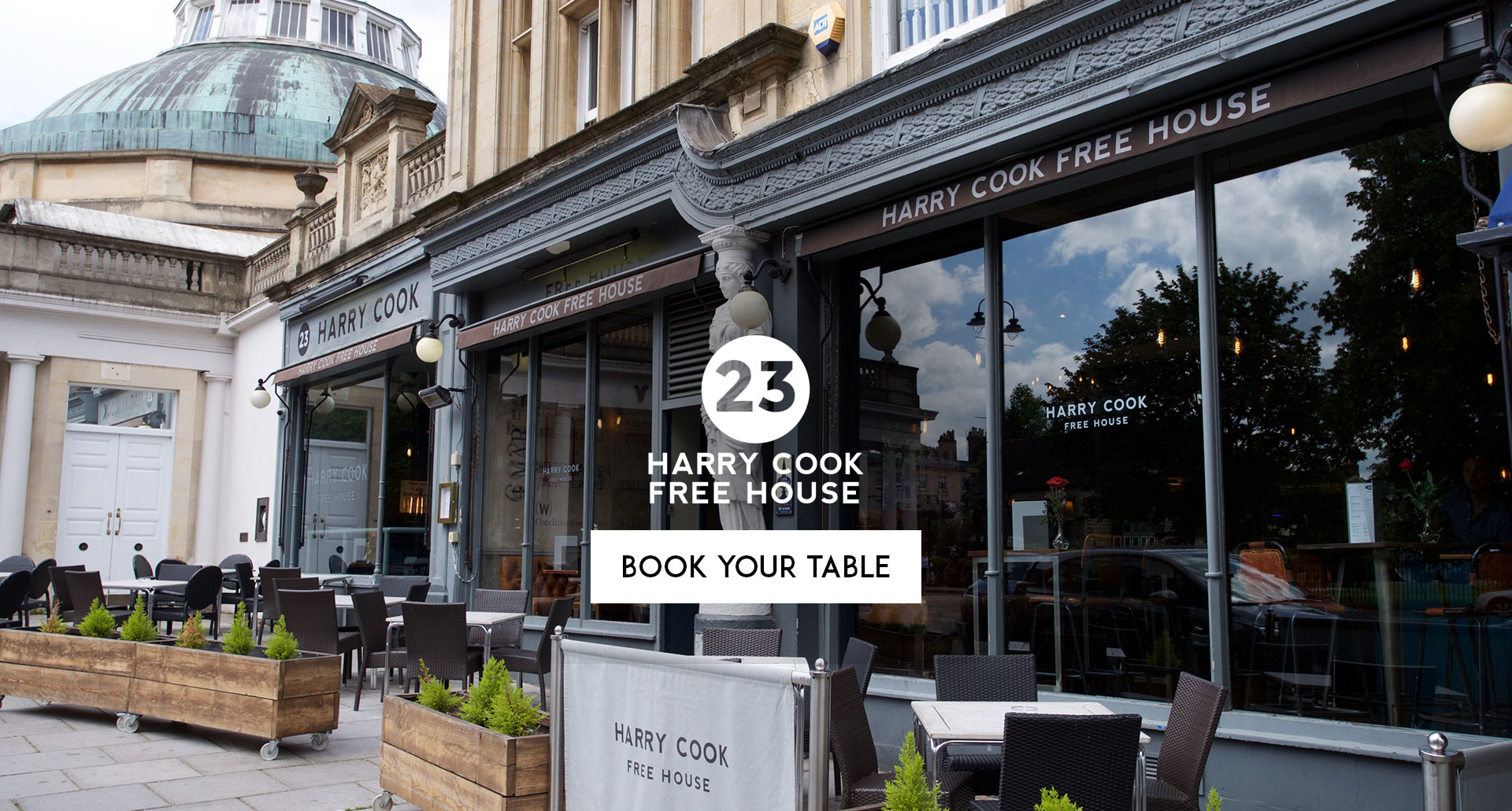 Book Your Table Harry Cook Free House